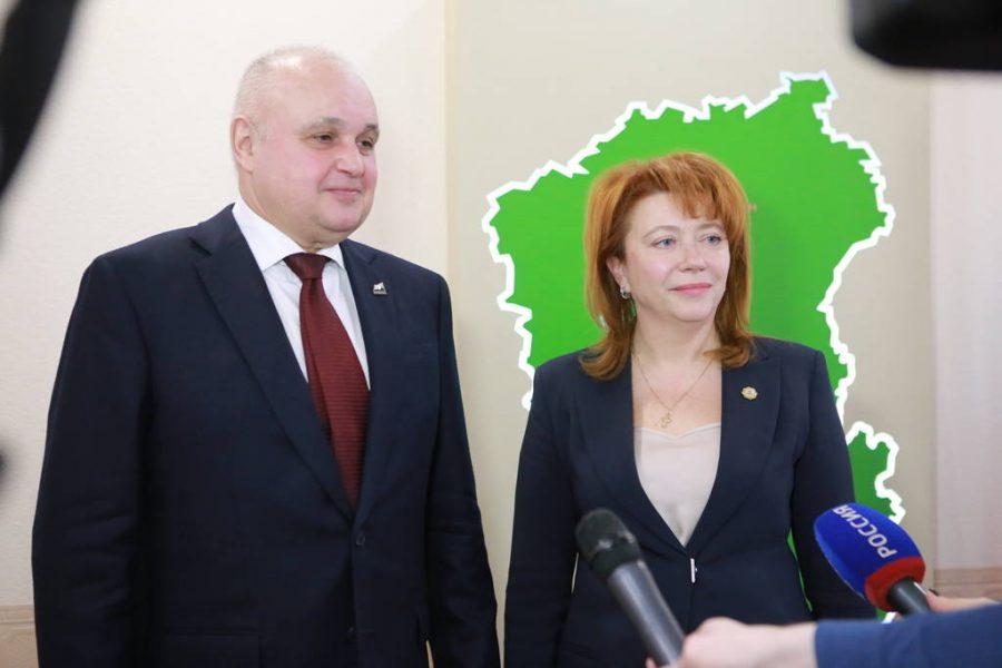 В Кемеровском округе новый глава