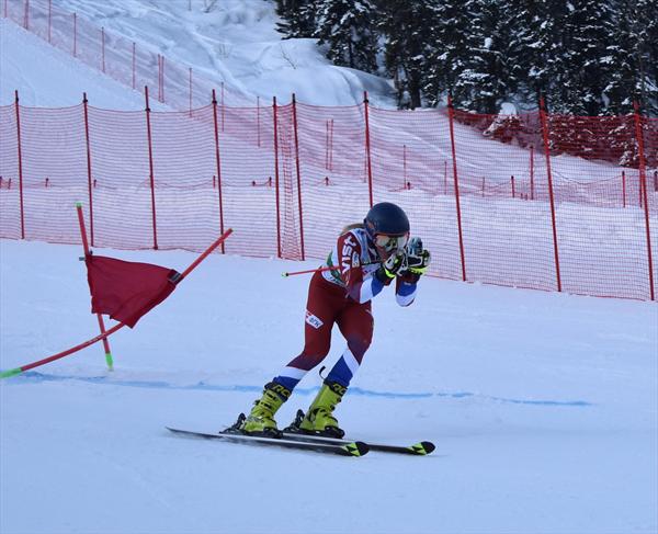 Новокузнецкая горнолыжница стала чемпионкой России