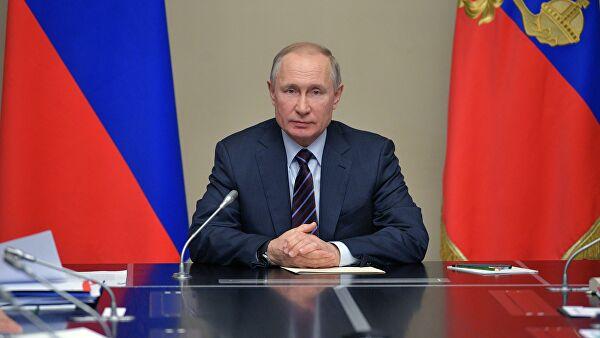 Владимир Путин через несклько часов выступит с обращением к нации