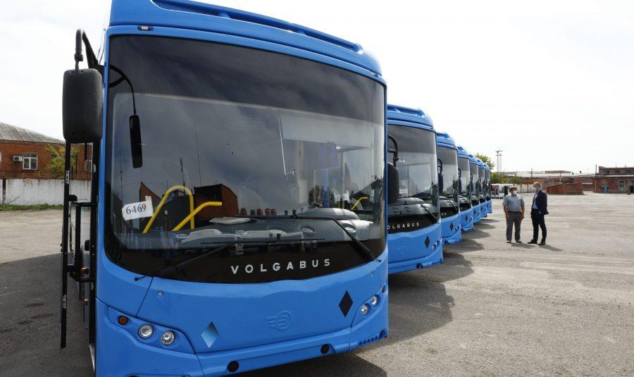 25 новых автобусов выйдут на маршруты в Кемерове